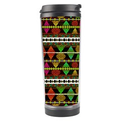 Aztec Style Pattern Travel Tumbler