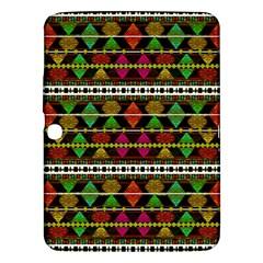 Aztec Style Pattern Samsung Galaxy Tab 3 (10.1 ) P5200 Hardshell Case