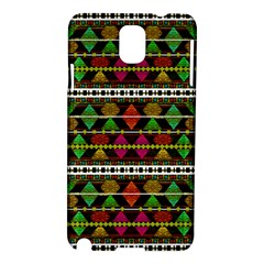 Aztec Style Pattern Samsung Galaxy Note 3 N9005 Hardshell Case