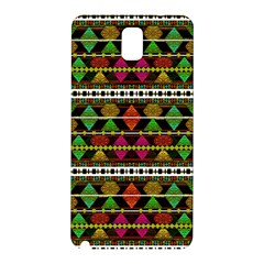 Aztec Style Pattern Samsung Galaxy Note 3 N9005 Hardshell Back Case