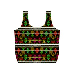 Aztec Style Pattern Reusable Bag (s)