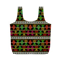 Aztec Style Pattern Reusable Bag (M)