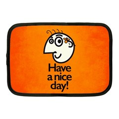 Have A Nice Day Happy Character Netbook Sleeve (Medium)
