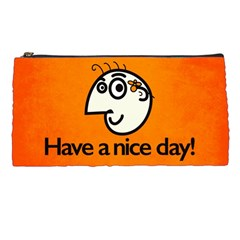 Have A Nice Day Happy Character Pencil Case