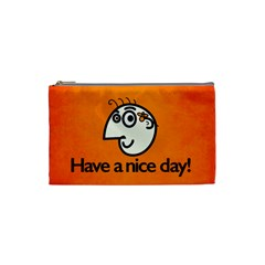 Have A Nice Day Happy Character Cosmetic Bag (Small)