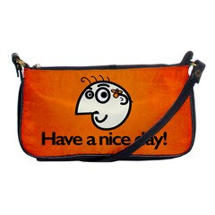 Have A Nice Day Happy Character Evening Bag