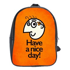Have A Nice Day Happy Character School Bag (xl)