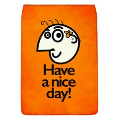 Have A Nice Day Happy Character Removable Flap Cover (Large)