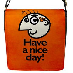 Have A Nice Day Happy Character Removable Flap Cover (Small)