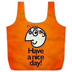 Have A Nice Day Happy Character Reusable Bag (xl)
