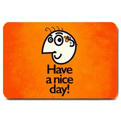 Have A Nice Day Happy Character Large Door Mat