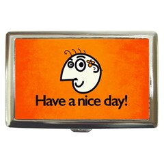 Have A Nice Day Happy Character Cigarette Money Case