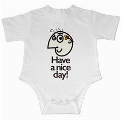 Have A Nice Day Happy Character Infant Bodysuit
