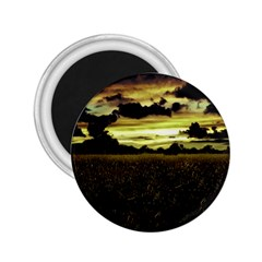 Dark Meadow Landscape  2 25  Button Magnet