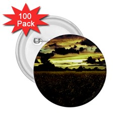 Dark Meadow Landscape  2.25  Button (100 pack)