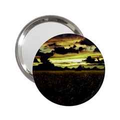 Dark Meadow Landscape  Handbag Mirror (2.25 )