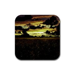 Dark Meadow Landscape  Drink Coasters 4 Pack (Square)