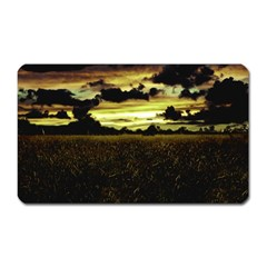 Dark Meadow Landscape  Magnet (rectangular)