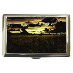 Dark Meadow Landscape  Cigarette Money Case