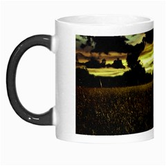 Dark Meadow Landscape  Morph Mug