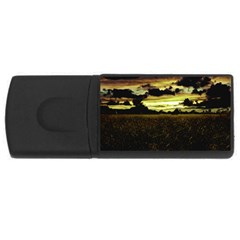 Dark Meadow Landscape  4gb Usb Flash Drive (rectangle)