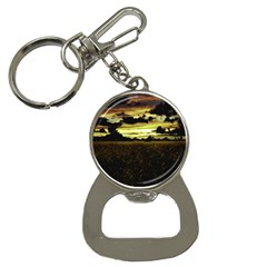 Dark Meadow Landscape  Bottle Opener Key Chain