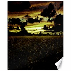 Dark Meadow Landscape  Canvas 16  x 20  (Unframed)