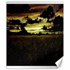 Dark Meadow Landscape  Canvas 20  X 24  (unframed)