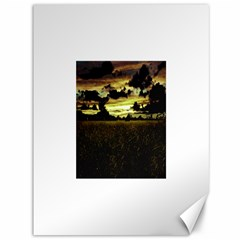 Dark Meadow Landscape  Canvas 36  x 48  (Unframed)