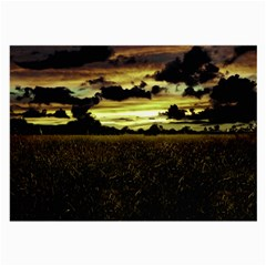 Dark Meadow Landscape  Glasses Cloth (large, Two Sided)