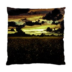 Dark Meadow Landscape  Cushion Case (Single Sided)