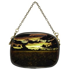 Dark Meadow Landscape  Chain Purse (Two Sided)