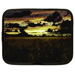 Dark Meadow Landscape  Netbook Sleeve (XL)