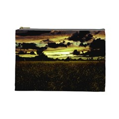 Dark Meadow Landscape  Cosmetic Bag (large)