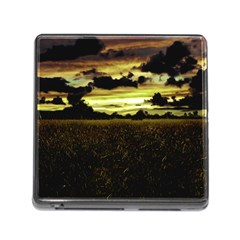 Dark Meadow Landscape  Memory Card Reader With Storage (square)