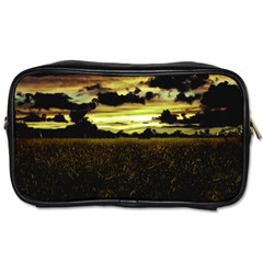 Dark Meadow Landscape  Travel Toiletry Bag (One Side)