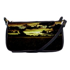 Dark Meadow Landscape  Evening Bag