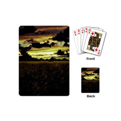 Dark Meadow Landscape  Playing Cards (Mini)