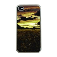 Dark Meadow Landscape  Apple iPhone 4 Case (Clear)