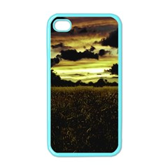 Dark Meadow Landscape  Apple iPhone 4 Case (Color)