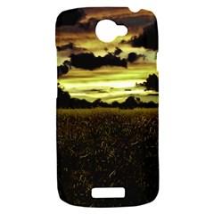 Dark Meadow Landscape  HTC One S Hardshell Case