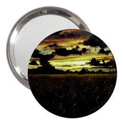 Dark Meadow Landscape  3  Handbag Mirror