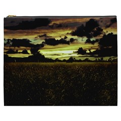 Dark Meadow Landscape  Cosmetic Bag (XXXL)