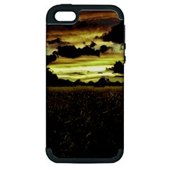 Dark Meadow Landscape  Apple iPhone 5 Hardshell Case (PC+Silicone)
