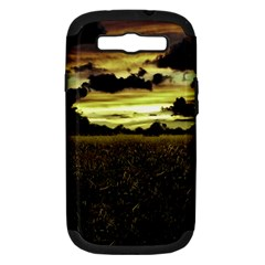 Dark Meadow Landscape  Samsung Galaxy S III Hardshell Case (PC+Silicone)