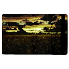 Dark Meadow Landscape  Apple Ipad 2 Flip Case
