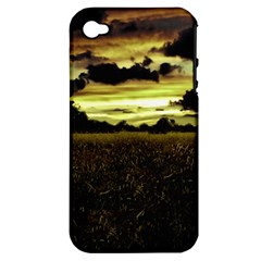 Dark Meadow Landscape  Apple iPhone 4/4S Hardshell Case (PC+Silicone)