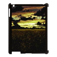 Dark Meadow Landscape  Apple iPad 3/4 Case (Black)