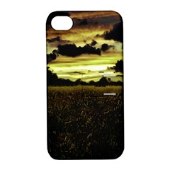 Dark Meadow Landscape  Apple iPhone 4/4S Hardshell Case with Stand