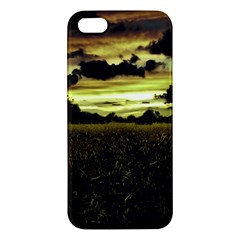 Dark Meadow Landscape  Apple Iphone 5 Premium Hardshell Case